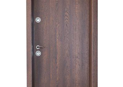"""Българска входна врата модел Doormex  в цвят """"Дъб Оксфорд"""""""