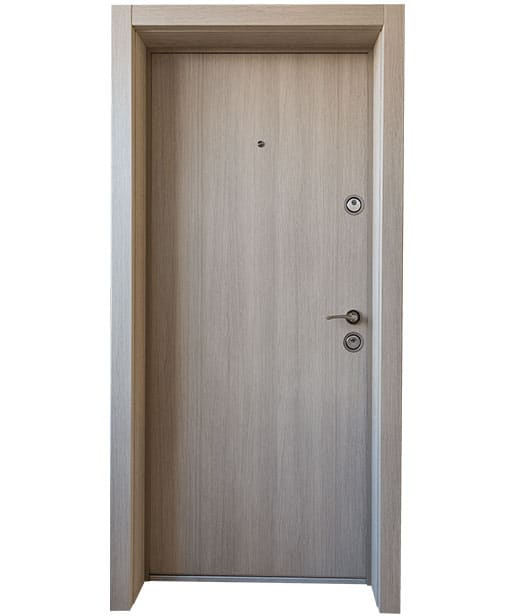 """Българска входна врата модел Doormex  в цвят """"Капучино"""""""