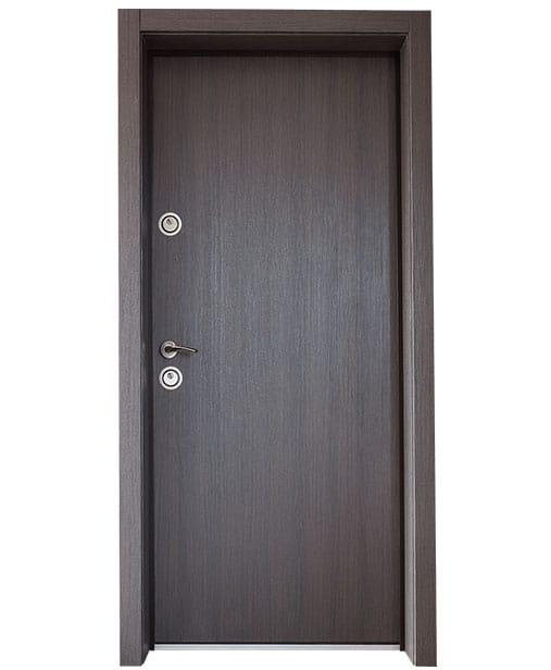 """Българска входна врата модел Doormex  в цвят """"Мелинга Браун"""""""