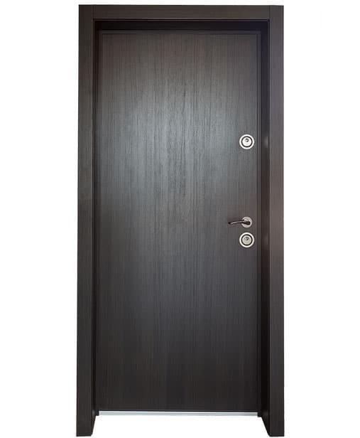 "Българска входна врата модел Doormex в цвят ""Венге"""