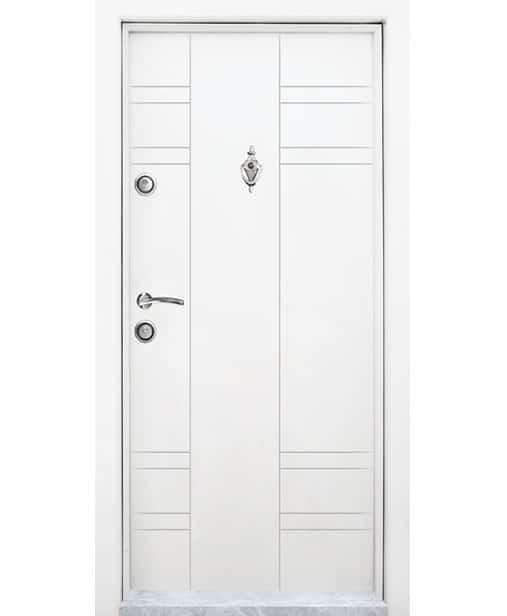 Модел Т598-Бял/Лак  (92/200 см)
